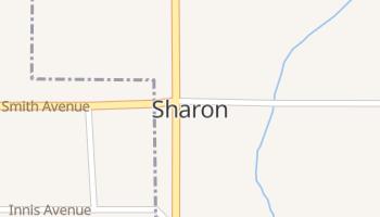 Sharon, Oklahoma map