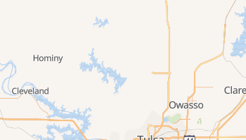 Skiatook, Oklahoma map
