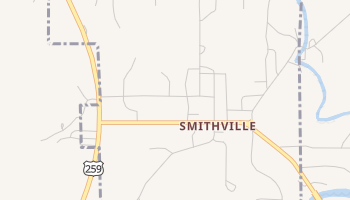 Smithville, Oklahoma map