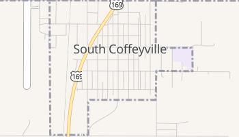 South Coffeyville, Oklahoma map
