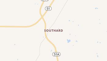 Southard, Oklahoma map