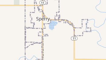 Sperry, Oklahoma map
