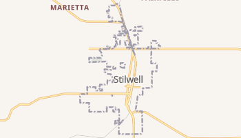 Stilwell, Oklahoma map