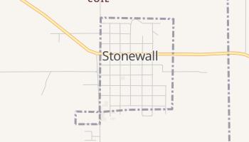Stonewall, Oklahoma map