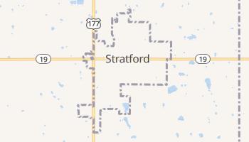 Stratford, Oklahoma map