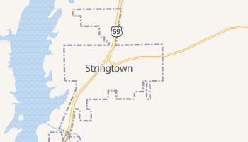 Stringtown, Oklahoma map