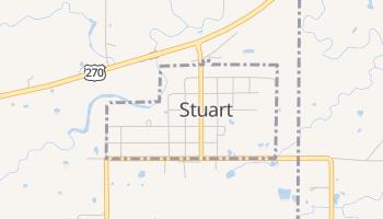 Stuart, Oklahoma map