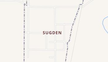 Sugden, Oklahoma map