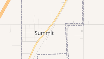 Summit, Oklahoma map