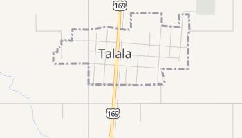 Talala, Oklahoma map