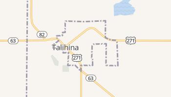 Talihina, Oklahoma map