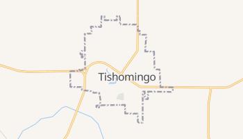 Tishomingo, Oklahoma map