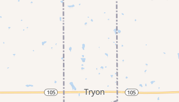 Tryon, Oklahoma map