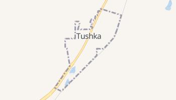 Tushka, Oklahoma map