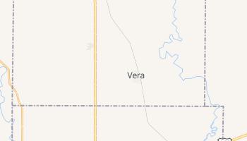 Vera, Oklahoma map