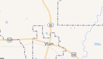 Vian, Oklahoma map