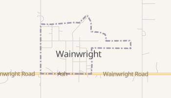 Wainwright, Oklahoma map