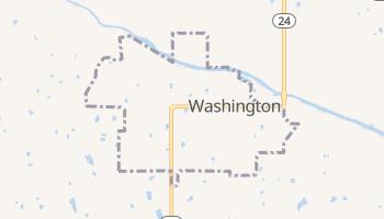 Washington, Oklahoma map
