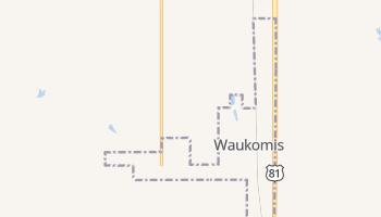 Waukomis, Oklahoma map