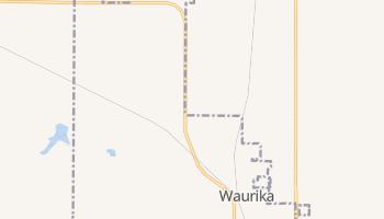 Waurika, Oklahoma map