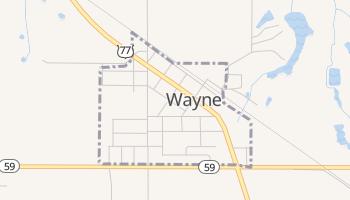 Wayne, Oklahoma map