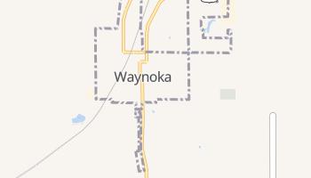 Waynoka, Oklahoma map
