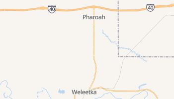 Weleetka, Oklahoma map