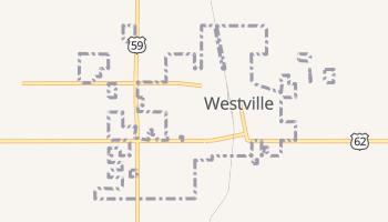 Westville, Oklahoma map