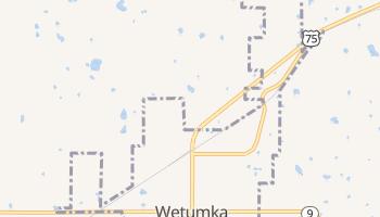 Wetumka, Oklahoma map