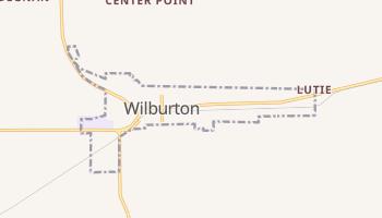 Wilburton, Oklahoma map