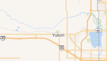 Yukon, Oklahoma map