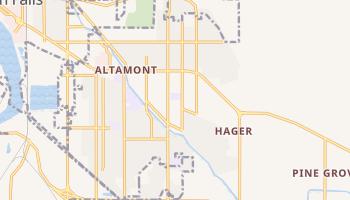 Altamont, Oregon map