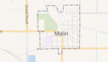 Malin, Oregon map