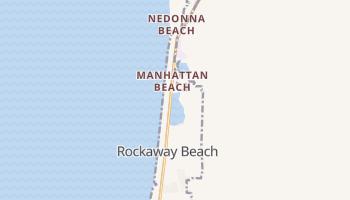 Rockaway Beach, Oregon map
