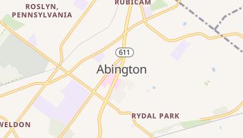 Abington, Pennsylvania map