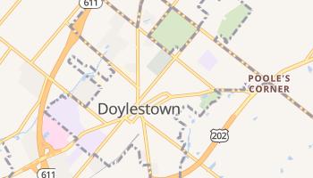 Doylestown, Pennsylvania map