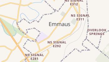 Emmaus, Pennsylvania map