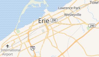 Erie, Pennsylvania map