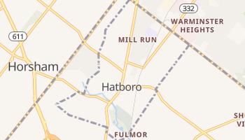 Hatboro, Pennsylvania map