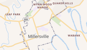 Millersville, Pennsylvania map