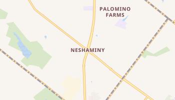 Neshaminy, Pennsylvania map