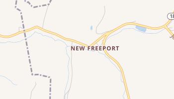 New Freeport, Pennsylvania map