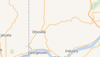 Ohioville, Pennsylvania map