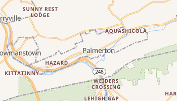 Palmerton, Pennsylvania map