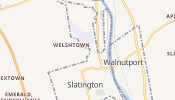 Slatington, Pennsylvania map