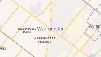 Warminster, Pennsylvania map