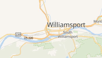 Williamsport, Pennsylvania map