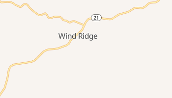 Wind Ridge, Pennsylvania map