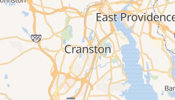Cranston, Rhode Island map
