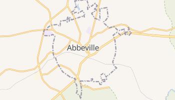 Abbeville, South Carolina map